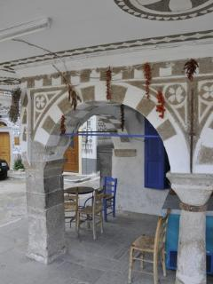 VKrini. Pyrgi of Chios, photo describes the tradition itself.