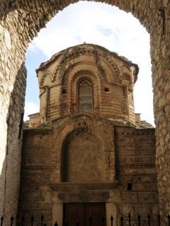 VKrini. Church in a village in Chios.