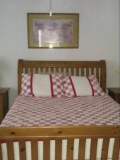 Bedroom 3 has a Queen size bed as well as a baby crib