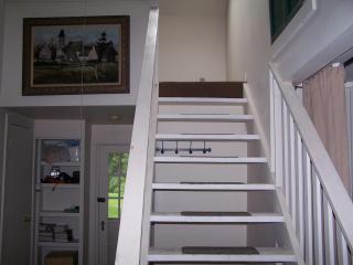Stairs: Enclosed loft