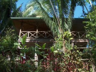luxuriant garden chalets north, Quepos