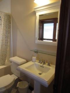 Custom Bathroom With Subway Tiles