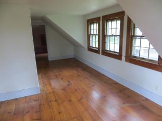 Beautiful hardwood floors in the bedrooms