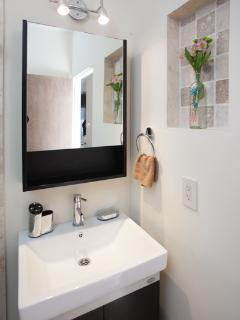 Bathroom sink/ mirror