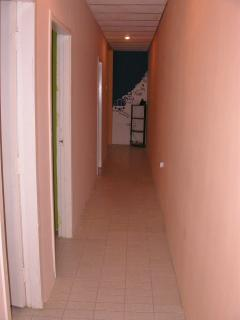 Hallway to the Laundry & Bathrooms Area