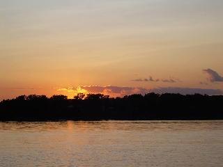 Sunset on Lake Moore
