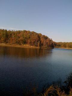 Fall on Lake Moore
