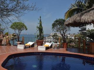 Pasos de Villa de lujo en Playa Los Muertos, Puerto Vallarta
