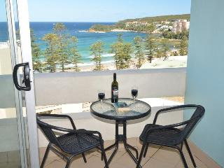 Enjoy the sea breezes on your balcony