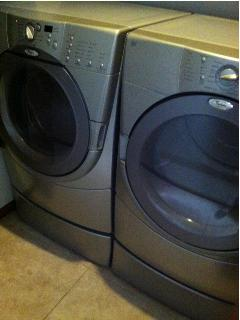 Newer High Efficiency Stainless Washer/Dryer