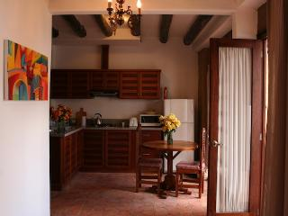 Charming one-bedroom with garden, historic Cuenca