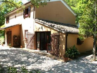 A country house in the Montefeltro (The Marche Region) hills for a holiday by the see in Pesaro, Colbordolo
