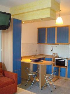 Kitchen from the Studio for 1-4 persons in the ground floor