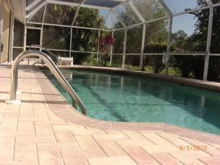 MICHAEL HOME:  3 Bedroom, 2 Bathroom, Pool Home  in Bonita Springs, FL