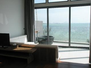 Sittings area overlooking the sea view