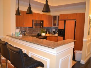 Kitchen and breakfast bar