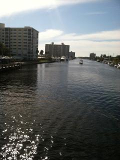 Nearby intracoastal