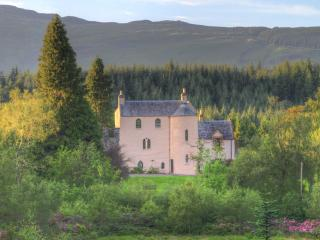 Recently renovated 500 year old Scottish castle., Aberfoyle