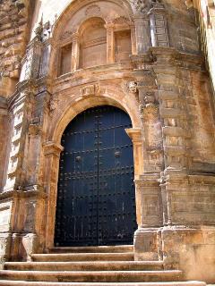 Iglesia Mayor. Puerta de la Sacristía