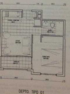 Floor plan - Plano del departamento