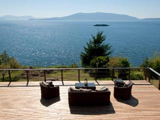 Waterfront with Panoramic View of San Juan Islands