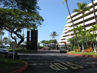 Royal Kona Resort, site of best luau in Hawaii (performed at Obama White House), just across street
