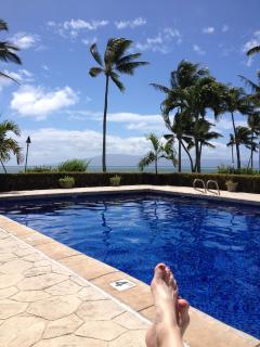 Poolside , best kept pool in Molokai by Inspector