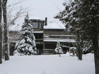 BACK OF THE HOUSE IN WINTER