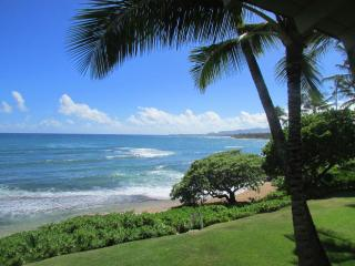 Direct Oceanfront with the Beach at Your Feet, Kapaa
