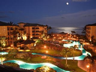 Waipouli Beach Resort Night Photo