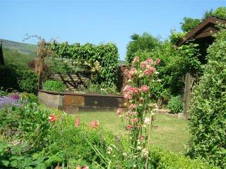 Secluded garden with beautiful views