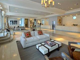 Tastefully furnished bedroom at  hip Artecity SOBE, Miami Beach