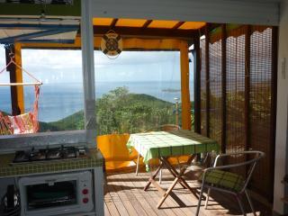 Paradis avec vue imprenable à 180° à Bouillante