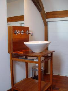 Shower & sanitary in bedroom upstairs