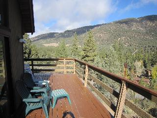 Gorgeous mountain views from the porch swing