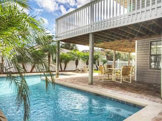 Ocean View Private Pool Home-St. Augustine Beach,  No busy streets to cross