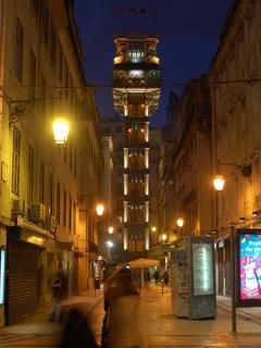 Santa Justa Lift, 1898 made by a disciple of Eifel - 7 minutes walking from the appartmnent