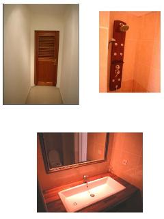 One bathroom and WC per room