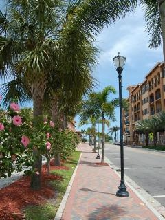 Downtown Fort Pierce near the Public Library