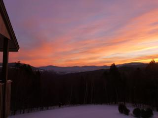 Sugarbush Snowside 14 - Mad River Valley Sunrise, Fayston