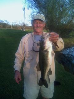 Trophy Bass from our Lake