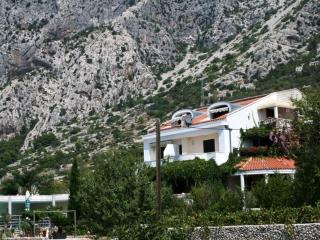 Seaview Villa with pool, tenniscourt and garden, Podgora