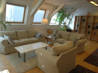 Quiet Loft in Centre, 2-bedrooms, direct bus from Airport, free WIFI, Amsterdam