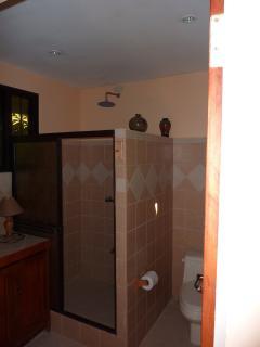 Ensuite Bathroom at ' La Niña' Comfy Manuel Antonio Cottage