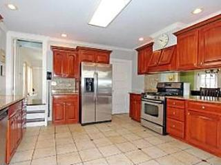 Large eat-in kitchen
