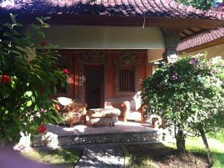 Bali - Luxurious see fronted villa with laguna shaped private pool