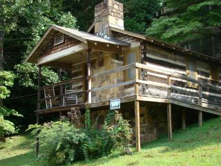 Big Bear historic cabin in downtown Gatlinburg.