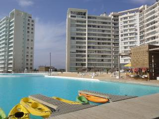 Resort Laguna del Mar 2 bedrooms with sea view, La Serena