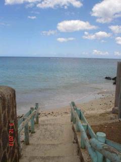 La plage publique
