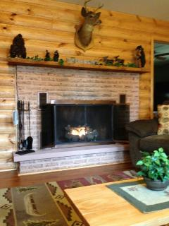 Toasty Propane Fireplace (Seasonal)